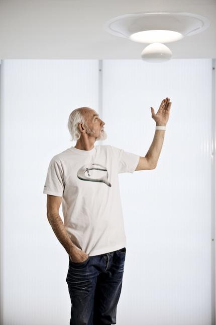 Le designer Ross LoverGrove et son puits de lumière design