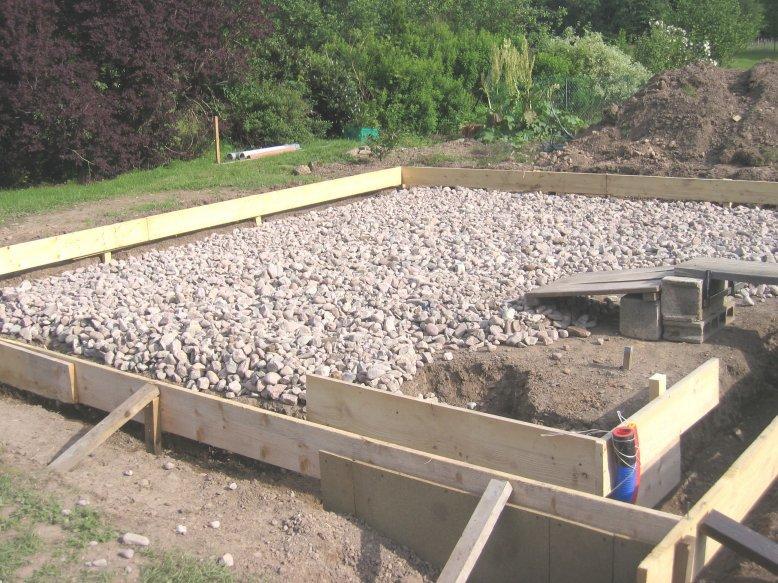 La marche suivre pour r aliser une dalle en b ton - Dalle en beton pour abri de jardin ...