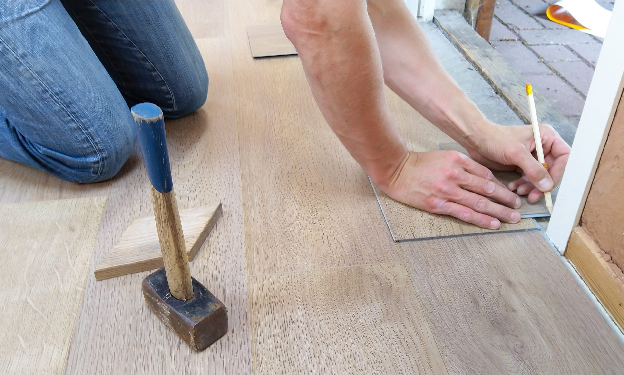 Rénovation : la pose d'un parquet